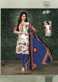 COTTON FANCY PRINTED DRESS MATERIALS