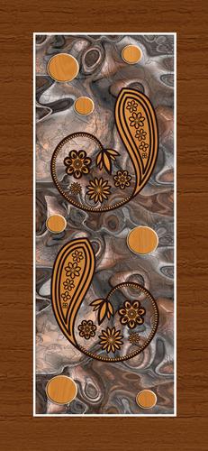 Laminated Door Print Skin
