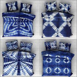 Shibori Print Bed Sheet