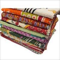 Reversible Old Vintage Kantha Bedspread Throw
