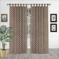 Cotton Hand Block Print Curtain