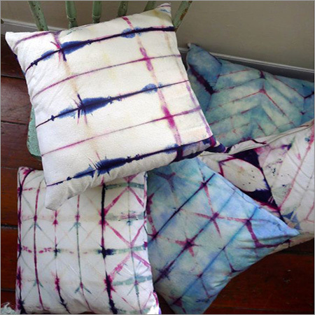 Shibori Print Cushion