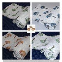 Pure Cotton Kantha Quilt