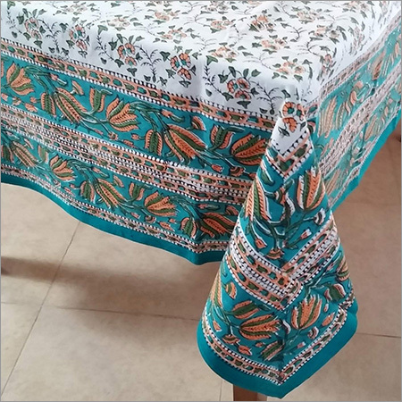 Hand Block Print Table Cloth