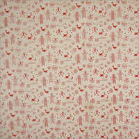 African Hand Block Print Fabric