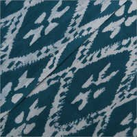 Block Print Ikat Fabric