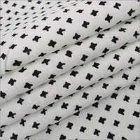 Polka Dote Block Print Fabric