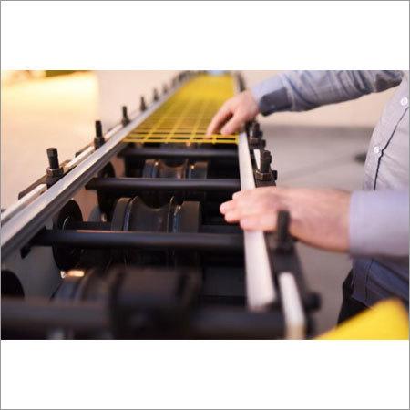Heavy Duty Rolling Shutter Machine