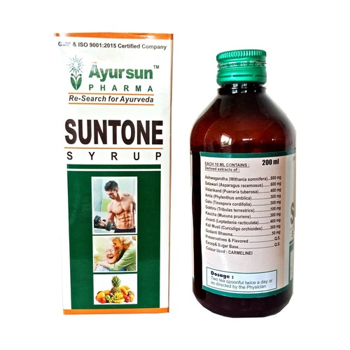 Ayurvedic & Herbal Syrup For Consistent Energy-suntone Syrup