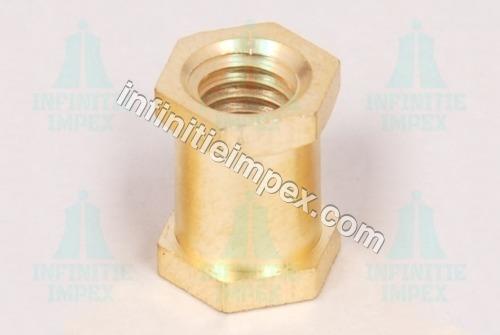Brass Hex Insert Nut