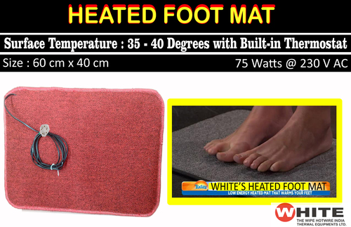 Heated Foot Mat