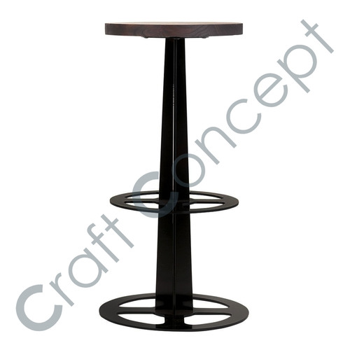 POLE METAL BAR STOOL