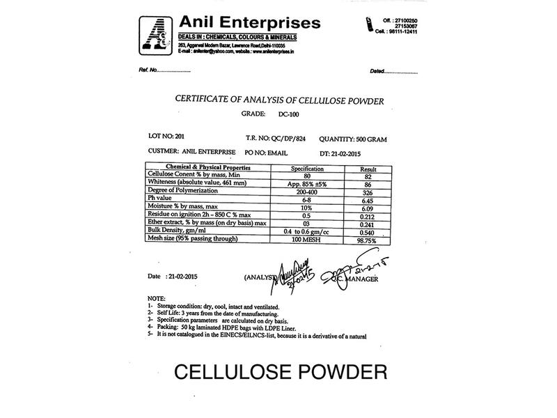 Cellulose Powder