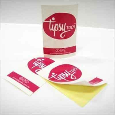 Adhesive Paper Sticker