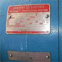 Anodized Aluminium Label