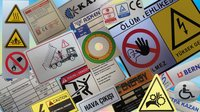 Caution Polycarbonate Labels