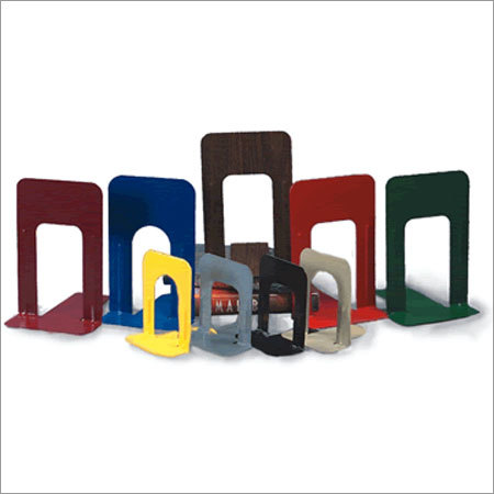 Metal Book Ends Set