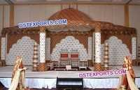 Designer Carved Hindu Wedding Mandap