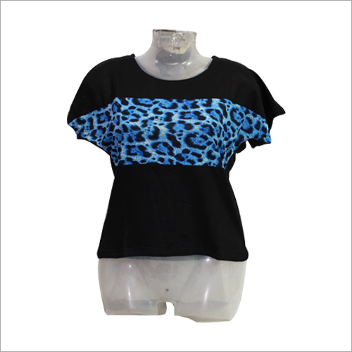 Ladies Leopard Print Top