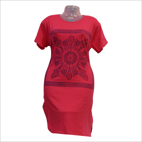 Ladies Printed Long Top