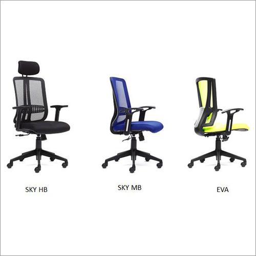 Mesh Chair - Sky Eva