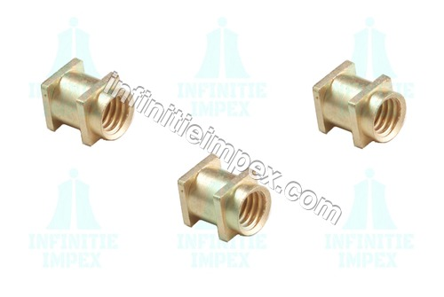 Brass Square Moulding Inserts