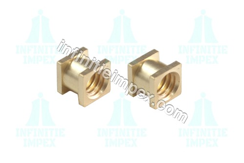 Brass Square Threaded Inserts