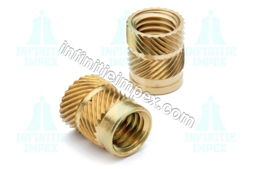 Brass Ultrasonic Inserts