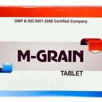 Ayurvedic Herbal Medicine For Migrain-M-Grain Tablet