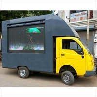Outdoor LED Screen Van Rental Service