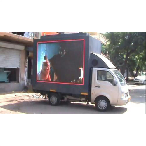 LED Video Advertising Van