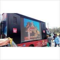 LED Advertising Mobile Van