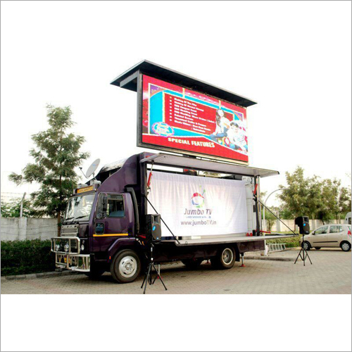 LED Advertising Video Van