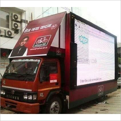 Promotional LED Video Van