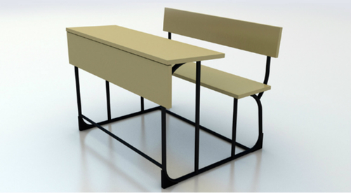 Bench with table 2