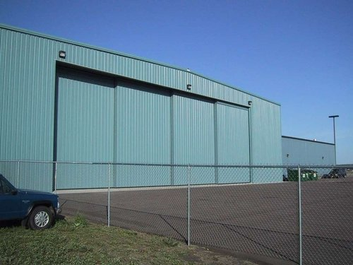 Automatic Aircraft Hangar Door