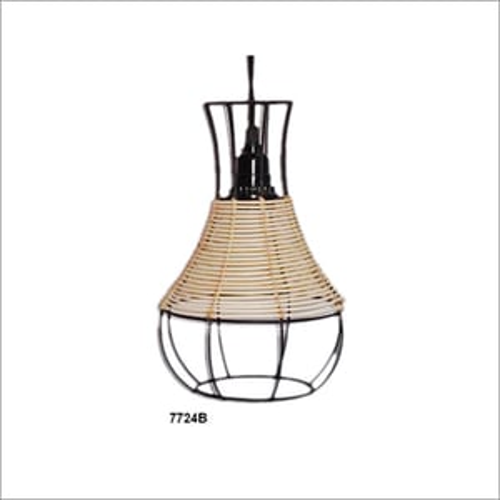 Antique Wooden Pendant Lamps