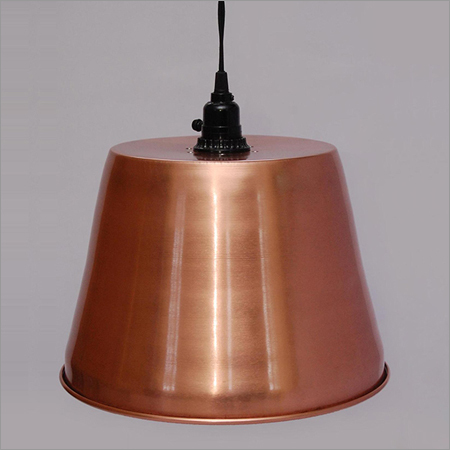 Iron Lamps Copper Plated