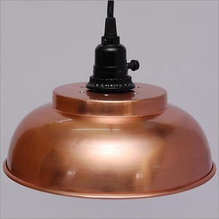 Hand Painted Iron Lamp