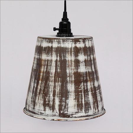 Iron Pendant Lamps Brown Antique