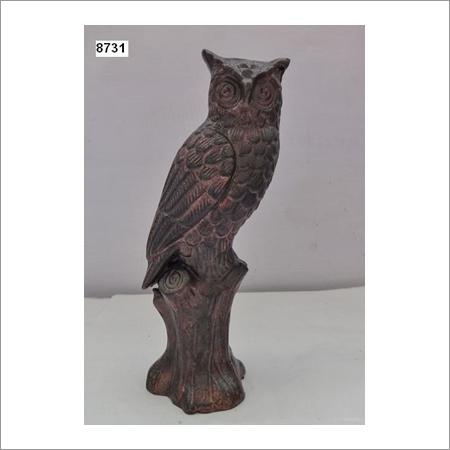 Brown Wooden Owl