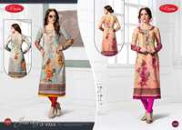 COTTON PRINTED WORK KURTI