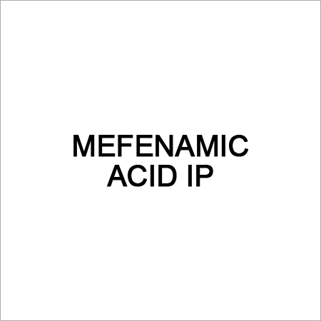 Mefenamic Acid IP