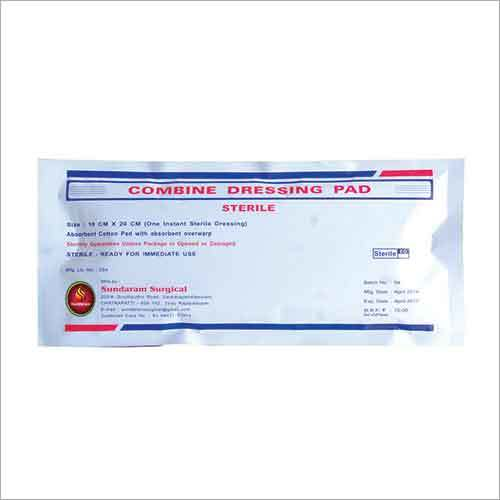 Combine Dressing Pad - Sterile