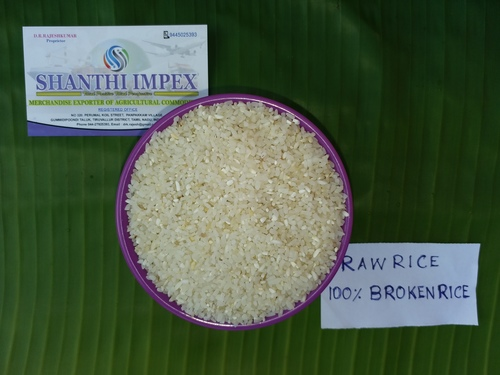 100% BROKEN FINE GRAIN RAW RICE