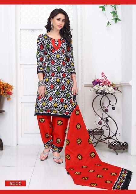 Fancy Printed Dress