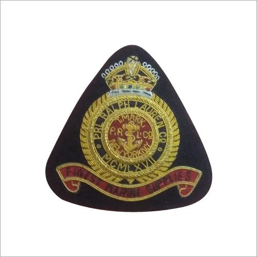 Hand Made Bullion Wire Blazer Badge