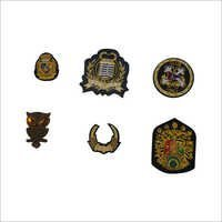 Hand Made Custom Bullion Embroidered Badges
