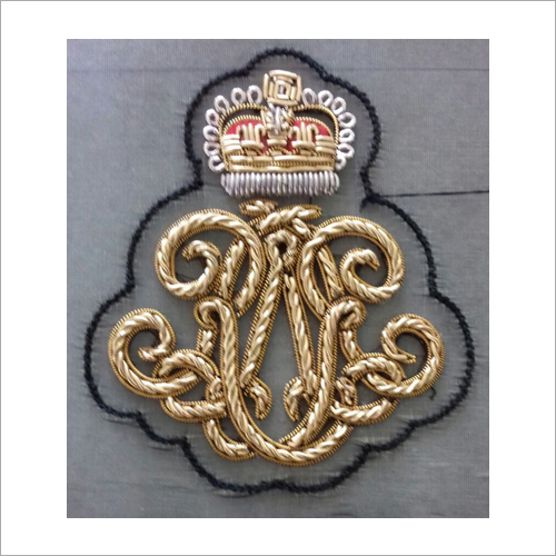 3D Embroidered Badge