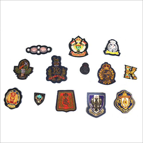 Hand Made Custom Embroidered Badge